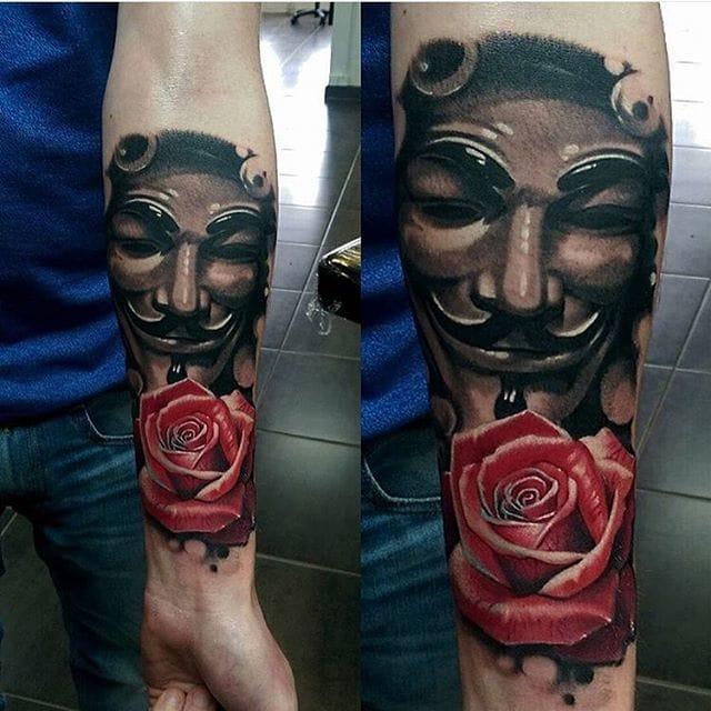 tatuajes v de venganza