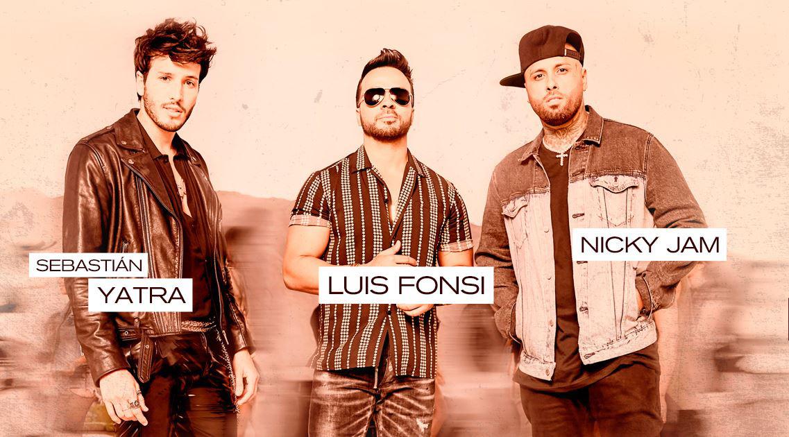 Date La Vuelta La Canción Que Reunió A Luis Fonsi Sebastián Yatra Nicky Jam Revista Bombea