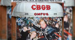 I.R.A. en CBGB