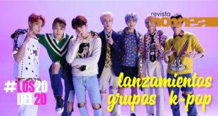 Lanzamientos de agrupaciones K-Pop